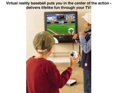 TV Baseball Video Game