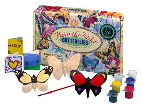 Butterfly Garden coloring kit