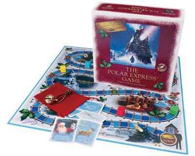 Polar Express Train Board Game