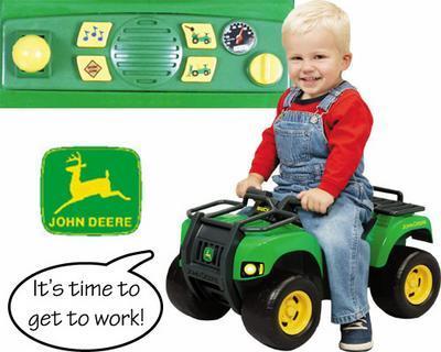 John Deere Gator Tractor With Sound