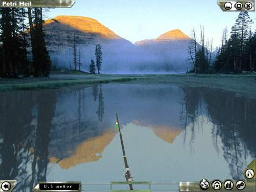 Petri heil fishing simulator perfect your own instruments for Lake fishing games