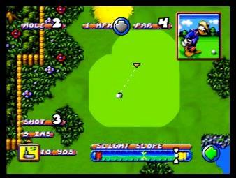 TV Disney Golf