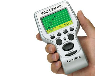 Electronic Horse Racing Handheld game