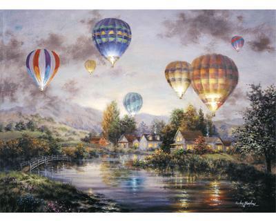 Hot Air Balloons Jigsaw
