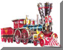 3D Train Jigsaw Puzzle