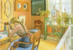 Carl Larsson paintings in Jigsaw Puzzles