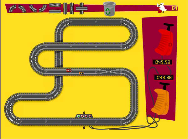 Play free Bilbanan Race Track Online games. Create your ...