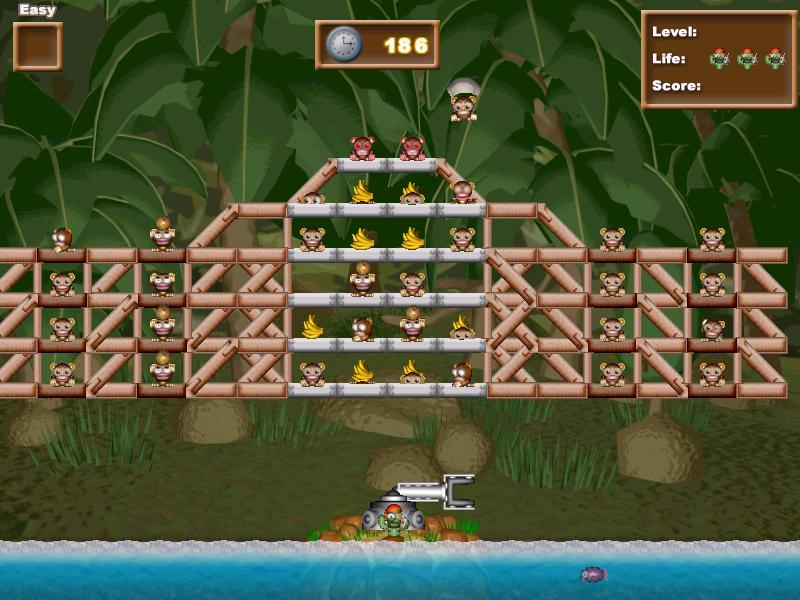 funky monkey barrel game free download