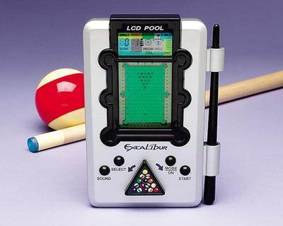 Electronic Pool Handheld game