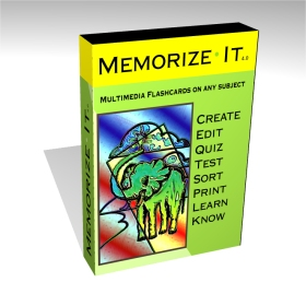 Memorize It Flash Cards
