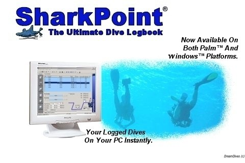 Shark Point Scuba Dive Log