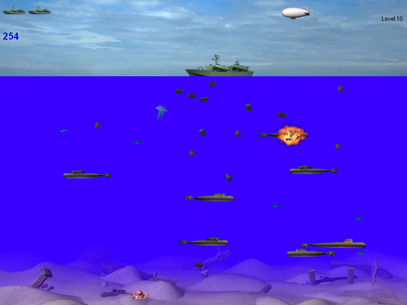 old submarine game