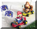 Donkey Kong and Super Mario Kart RC Racers