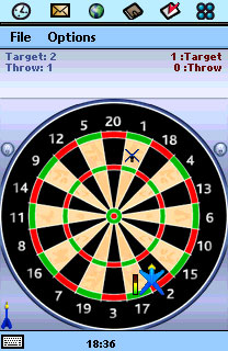 Darts Deluxe Palm OS