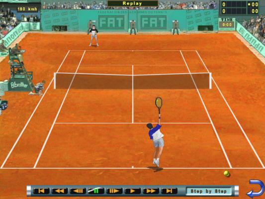 real tennis game online