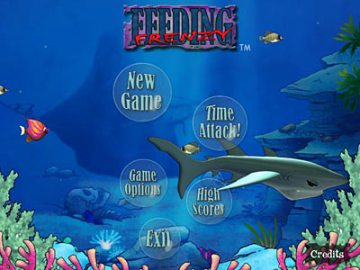 Feeding frenzy mac fish game for mac os eat smaller for Shark fishing games