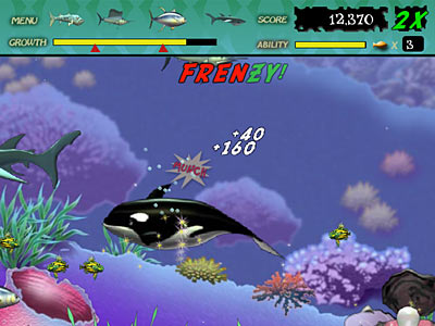 Play Free Games Online on Play Free Feeding Frenzy Online Games  Play Online Fish Game Free