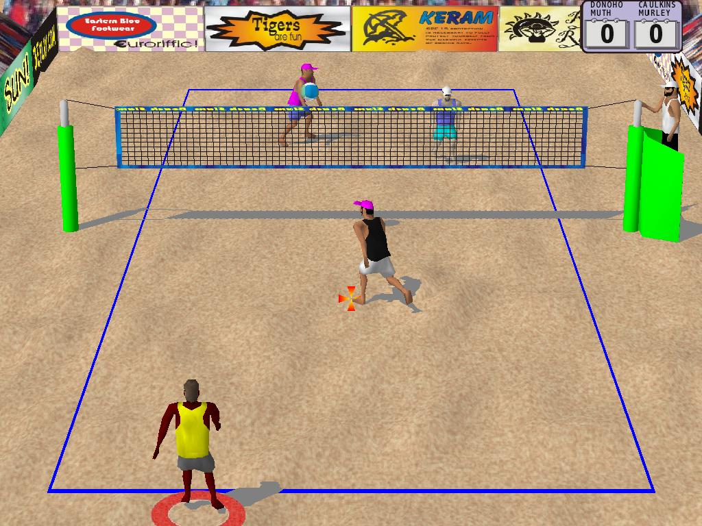 real volleyball game online
