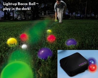 Light-Up Bocce Ball Set
