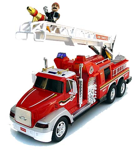 RC Fire Truck Shooting Water