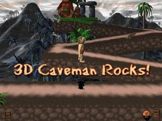 3D Cave Man Rocks