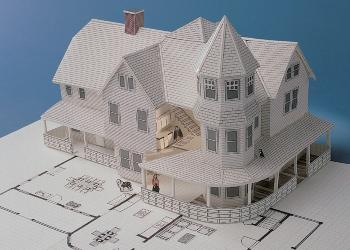 build a detailed scale model of your own home addition or remodeling project the way architects do the 3d home kit provides complete