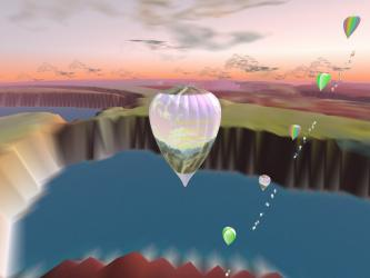 3D Hot Air Balloon Simulation
