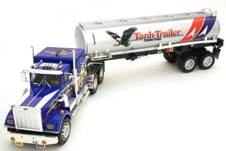 4 Foot RC Trailer Truck 4 Foot Trailer Tractor Remote