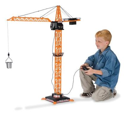 The 4-Foot Remote-Controlled Crane