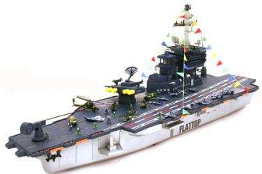 Aircraft Carrier RC Missiles Launcher