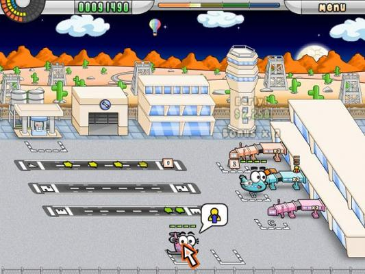 Airport Mania First Flight online game. Picture 1 - Picture 2 ...