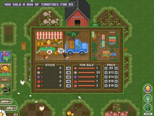 Alice Greenfingers Gardening Business Simulation Game