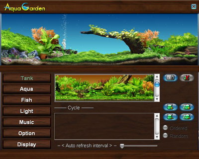 Aqua Garden Virtual freshwater aquarium