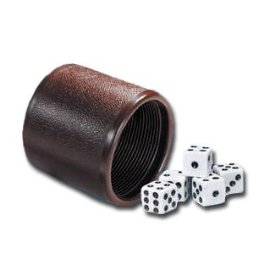 Leather Dice Cup Backgammon Leather Dice Cups Often With  Dices - Vinyl dice cup