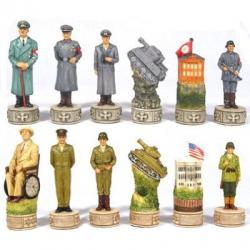 Axis Allies World War II Chess Set