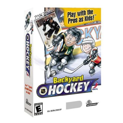 backyard hockey form teams from 30 backyard kids or 10 pro players as