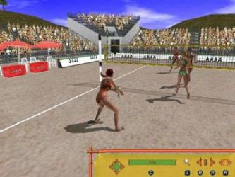 Beach Volleyball Hot Sports