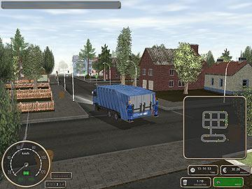 truck driver game