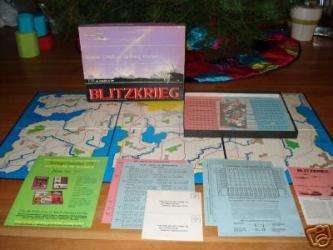 Blitzkrieg Board Game Lightning Warfare