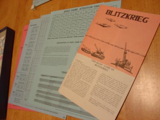 blitzkrieg board game lightning warfare avalon hill 1975