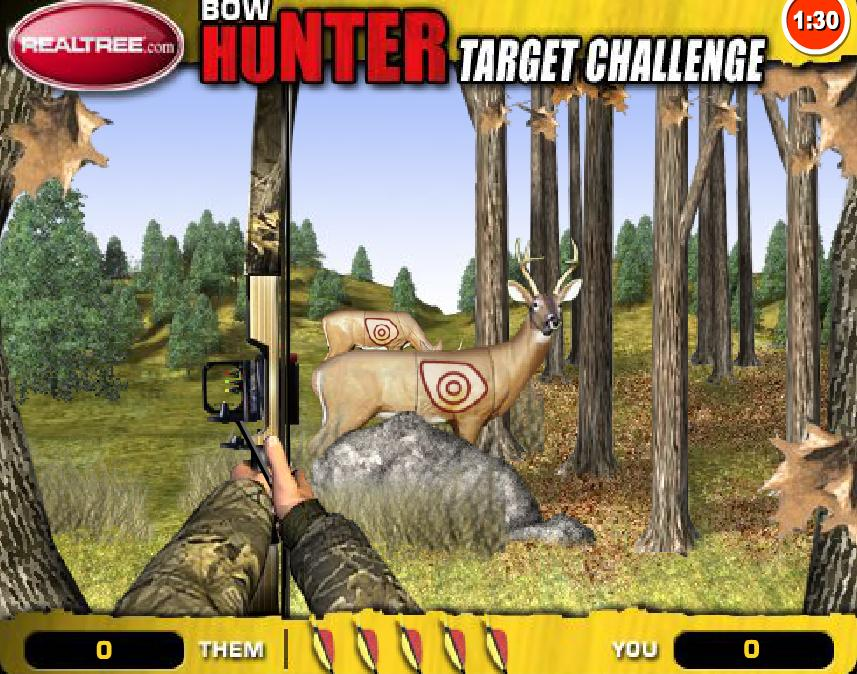 Play Free Bow Hunter Target Challenge Online Games Play
