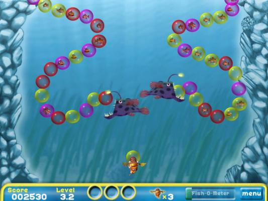 Play free bubble fish online games
