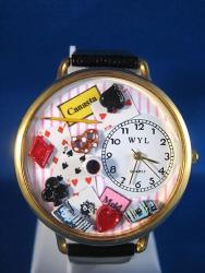 Canasta Gold Watch