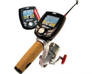 castmaster fishing handheld electronic fishing game