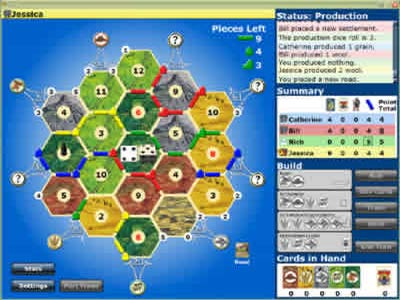 Catan the computer game