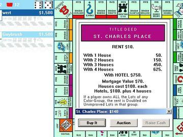 classic monopoly online free