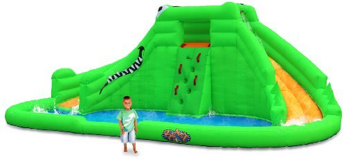 Crocodile Isle Inflatable Water Park