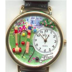 Croquet Gold Watch