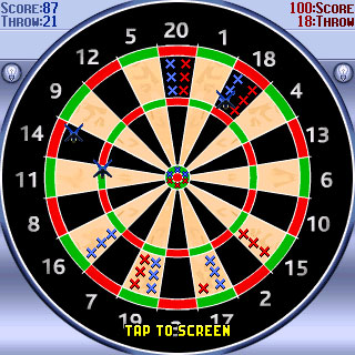Darts Deluxe Symbian UIQ Darts Symbian games  Download to play