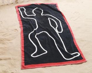 Dead Body Towel